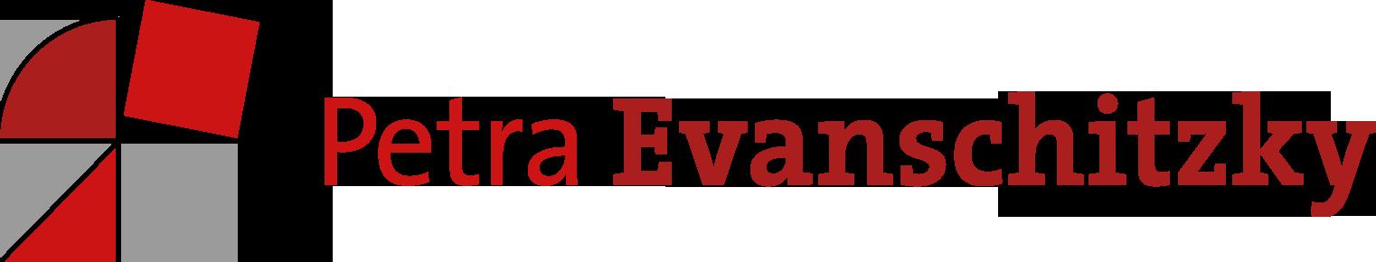 Logo Petra Evanschitzky